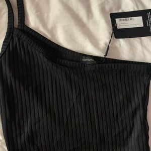 Pretty Little Thing One Strap Crop Top